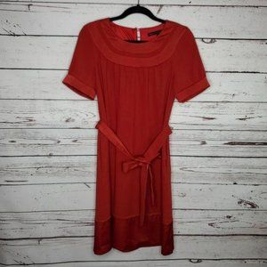 Marc by Marc Jacobs Short Sleeve Belted Dress